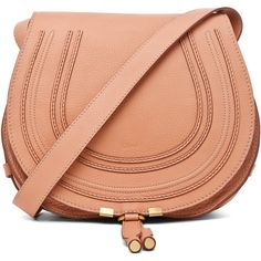 Chloe Marcie Satchel in Coral Sands ($1,295) ❤ liked on Polyvore