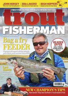 Trout Fisherman - Current Issue Fishing Magazines, Trout, Brown Trout