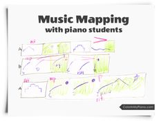 Music Mapping with Piano Students