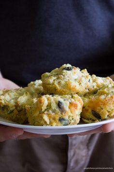 Zucchini Schafkäse Muffins - zum Mitbringen und Teilen!