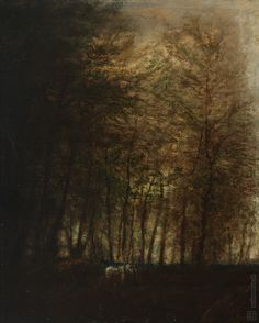 Ladislav Medňanský Povoz v lese 1880 - 1900 Forest Scenery, Art Google, Impressionism, Culture, Painting, Landscapes, Artists, Still Life, Portrait
