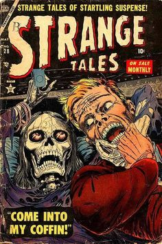 A Brief History of the Skull in Comic Books