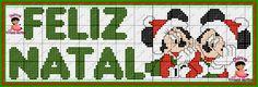 Bom diaaa! Hoje vim trazer uns gráficos natalinos, desses personagens que todos nós amamos!! E aí bora bordar que ainda dá tempo. Essa ...