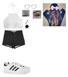 """""""Untitled #67"""" by supercandygurl ❤ liked on Polyvore featuring J.Crew, adidas Originals and Marc by Marc Jacobs"""