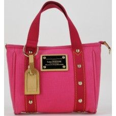 LouisVuitton Pink Antigua 'Cabas' PM Tote | Preowned Louis Vuitton Handbags