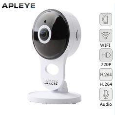 APLEYE Mini IP Camera 720P HD CCTV WIFI Camera Two Way Audio P2P Baby Monitor Network Security Surveillance Wireless Camera  #Affiliate