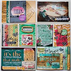 Scrap Happy Hippie: Project Life 2013 - Week 42 - right page