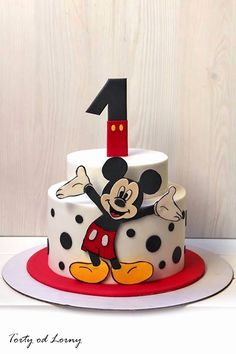 Boy First Birthday Ideas Unique Mickey Mouse First Birthday Cake Ideas – Roshmarketing Bolo Mickey E Minnie, Bolo Do Mickey Mouse, Mickey Mouse Birthday Cake, Mickey Cakes, Minnie Mouse Cake, 25th Birthday Cakes, Unique Birthday Cakes, Homemade Birthday Cakes, Birthday Cakes For Women