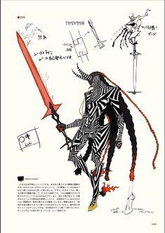 Games from the main series Shin Megami Tensei, Persona, Devil Summoner, Devil. Fantasy Character Design, Character Design Inspiration, Character Concept, Character Art, Concept Art, Monster Design, Monster Art, Persona 5, Susanoo