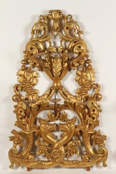 Pair of Gilt Venetian Wall Sconces 2