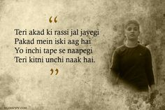Bapu sehat k liye tu toh hanikarak hai!, 9 Amitabh Bhattacharya lyrics that shows his talent have not been fully recognized. Song Lyric Quotes, Poetry Quotes, Hindi Quotes, Movie Quotes, Song Lyrics, Quotations, Filmy Quotes, Famous Dialogues, Ego Quotes