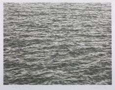 """Ocean"" by Vija Celmins - Print of the week on Cotton & Flax"