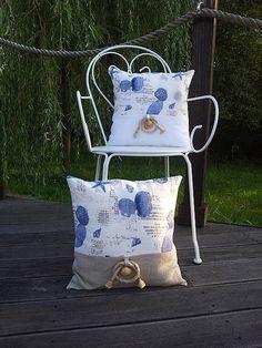 Linen pillow cases by shabby.romantic / Sada ľanových obliečok Brise de Mer