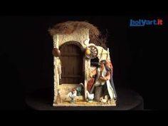 Mujer con gallinas 10 cm. movimiento belén napolitano   venta online en HOLYART