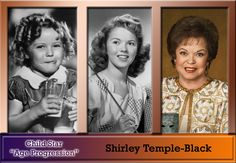 Shirley Temple-Black: Shirley Jane Temple (born April 23, 1928), later Shirley Temple Black, is an American film and television actress, singer, dancer, autobiographer, and former U.S. Ambassador to Ghana and Czechoslovakia. She began her film career in 1932 at the age of three, and in 1934, found international fame in Bright Eyes, a feature film designed specifically for her talents. She was appointed United States Ambassador to Ghana in 1974 and to Czechoslovakia in 1989.