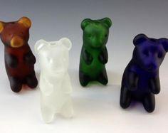 Gummy Bear Pyrex Glass Tobacco Pipe - *023