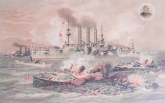 Top 10 Naval Battles That Were Game-Changers - Santiago de Cuba, July 3, 1898