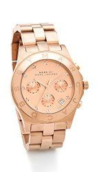 Marc by Marc Jacobs Women's Large Blade Chrono Watch