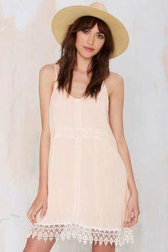 Lighten Up Crochet Dress | Shop Clothes at Nasty Gal!