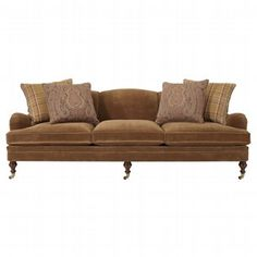 Langholm sofa from Ralph Lauren, love the casters