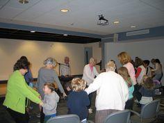 David Polansky Music Program - David had everyone dancing and singing along to his humorous melodies - April 22, 2014