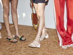 Les sandales du défilé Chloé printemps-été 2016
