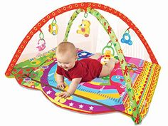 New Arrival March 2016 PLS Baby Colorful Play Gym Playmat Extra Thick Rattle Toys Nontoxic