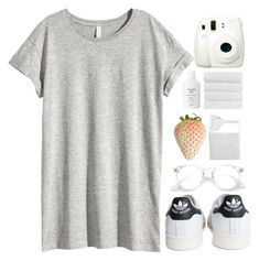 """like to join taglist"" by sleepy-dawn ❤ liked on Polyvore featuring H&M, adidas, BIA Cordon Bleu, Fresh and Fuji"