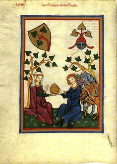 codex manesse | Helm Crests: Crests in the Codex Manesse
