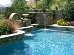 water & stone always works well together