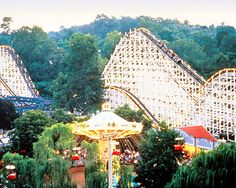 Hershey Park, Pennsylvania, USA Loved this place as a kid.  No Disneyland..