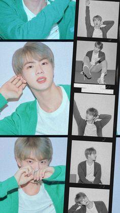 he's literally a vampire istg Seokjin, Kim Namjoon, Kim Taehyung, Jimin, Bts Jin, Bts Bangtan Boy, Bts Memes, Mnet Asian Music Awards, Jung Hoseok
