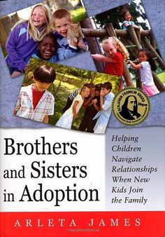 Brothers and Sisters in Adoption: Helping Children Navigate Relationships When New Kids Join the Family by Arleta James http://www.amazon.com/dp/1849059063/ref=cm_sw_r_pi_dp_53aPvb0FDAYMY