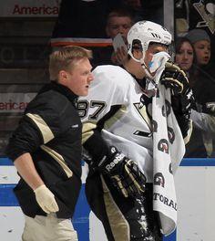 Sidney Crosby Pittsburgh Penguins vs New York Islanders March 29