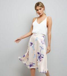 ca2e5f186c AX Paris Pale Pink Floral Print Skater Dress