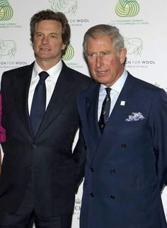 Colin Firth and Prince Charles