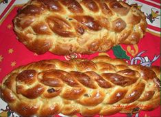 A Czech Christmas bread known to me as Houska. Slovak Recipes, Czech Recipes, Russian Recipes, Great Recipes, Snack Recipes, Dessert Recipes, Cooking Recipes, Snacks, Desserts