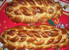A Czech Christmas bread known to me as Houska. Slovak Recipes, Czech Recipes, Russian Recipes, Great Recipes, Snack Recipes, Dessert Recipes, Cooking Recipes, Snacks, Christmas Bread