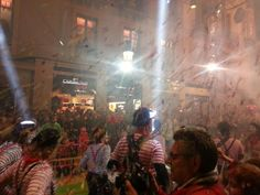 Batalla de las flores, Carnaval de Málaga 2015.