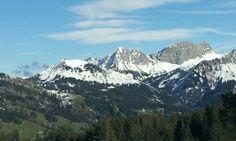 Bergflanken beim Glaubenbielenpass