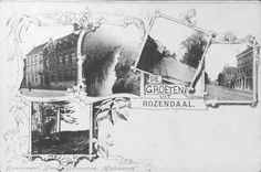 Groeten uit Rozendaal, 1898, uitgever kunstanstalt Herz.