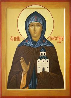 St. Euphrosyne (Eudokia, Eudoxia) of Moscow - May 17