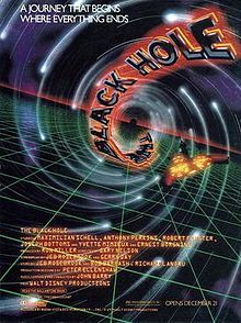 The Black Hole is a 1979 American science fiction film directed by Gary Nelson for Walt Disney Productions. Anthony Perkins, Walt Disney, Disney Films, Barbara Stanwyck, The Black Hole Movie, Holes Movie, Maximilian Schell, Sci Fi Films, Movie Poster Art