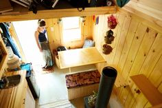 Clever Girl's tiny house in Maine