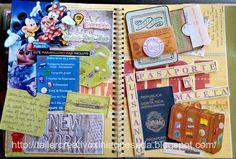 Taller Creativo Xinia Quesada Smashbook: #OleadaRetro Alistando Pasaporte y Maletas