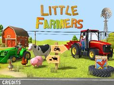 Little Farmers - Tractors, Harvesters & Farm Animals for Kids Review - TechWithKids.com