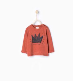 Image 1 of Crown T-shirt from Zara