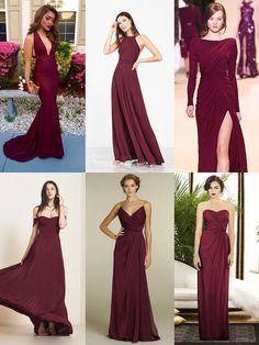 Wedding Color Schemes, Wedding Colors, Burgundy Maxi Dress, Bridesmaids, Bridesmaid Dresses, Cruise Wedding, Infinity Dress, Burgundy Wedding, Burgundy Color