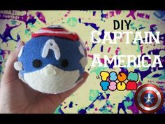 Captain America Tsum Tsum Sock Plushie Tutorial