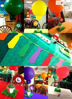 Atención Atención birthday decoration Birthday Decorations, Birthday Party Themes, 3rd Birthday, Ideas Para, Party Time, Birthdays, Kids, Globes, Invitations